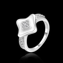 High Quality retail cheap Fashion Silver Rings Jewelry Fashion R455