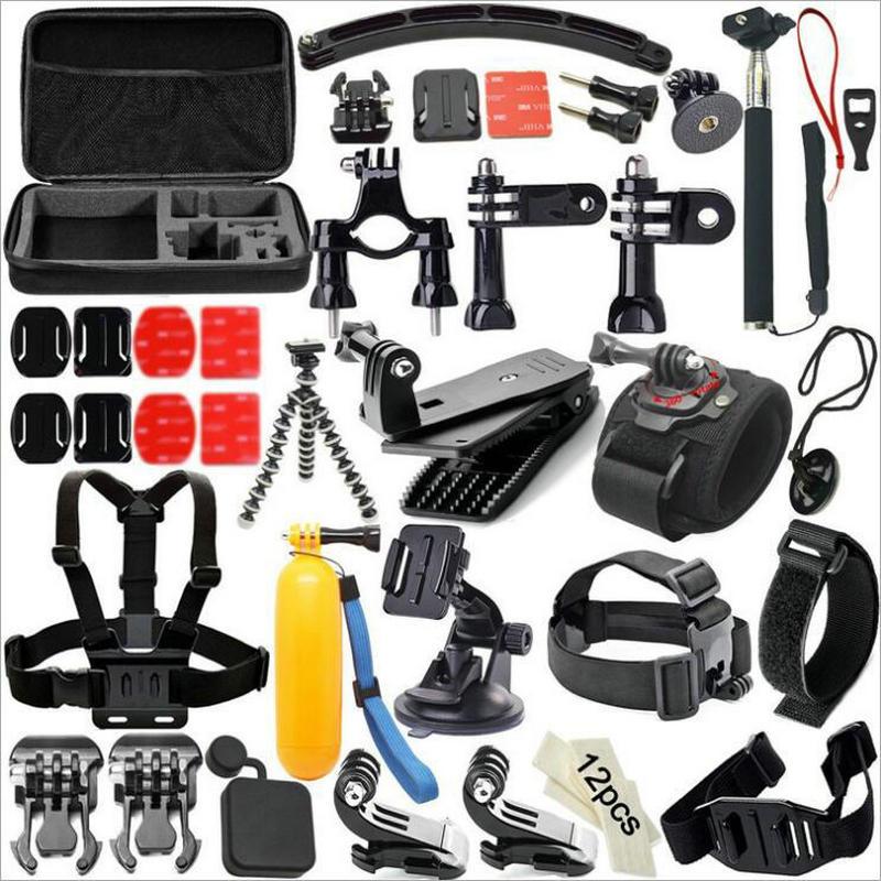 Accessoires caméra d'action T51 pour Gopro Hero 3 4 5 6 Xiaomi yi SJCAM EKEN H9 H9R fixation Gopro pour Canon Nikon