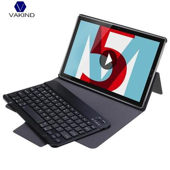 VAKIND For Huawei Portable Flip Detachable Bluetooth3.0 Keyboard Stand Case Cover For Huawei M5 10.8 10.8Pro (CMR-W09AL09)