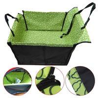 Waterproof Dog Car Seat Cover Pet Rear Carrier Mat Blanket Hammock Dog Car Seat Back Protector