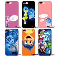 Joy and Sadness Inside Out For iPhone X 4 4S 5 5S 5C SE 6 6S 7 8 Plus Samsung Galaxy J1 J3 J5 J7 A3 A5 2016 2017 Phone Cover Bag(China)