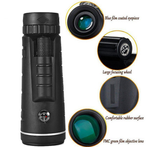Image 5 - 40X60 HD Zoom monocular binoculars Outdoor Travel Trekking Can be used for camera phone lens HD monocular for iPhone Huawei