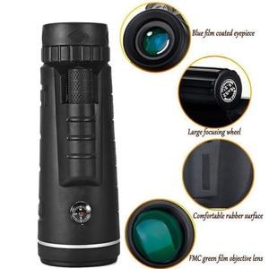 Image 5 - 40x60 hd 줌 단안 쌍안경 야외 여행 트레킹 카메라 전화 렌즈에 사용할 수 있습니다 아이폰 화웨이에 대한 hd 단안
