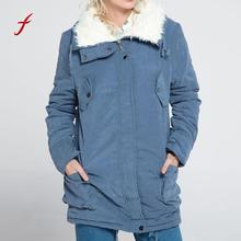 42dfe236828 2018 зимняя куртка женская парка флис с длинным рукавом с капюшоном  Открытый ветер теплый карман на