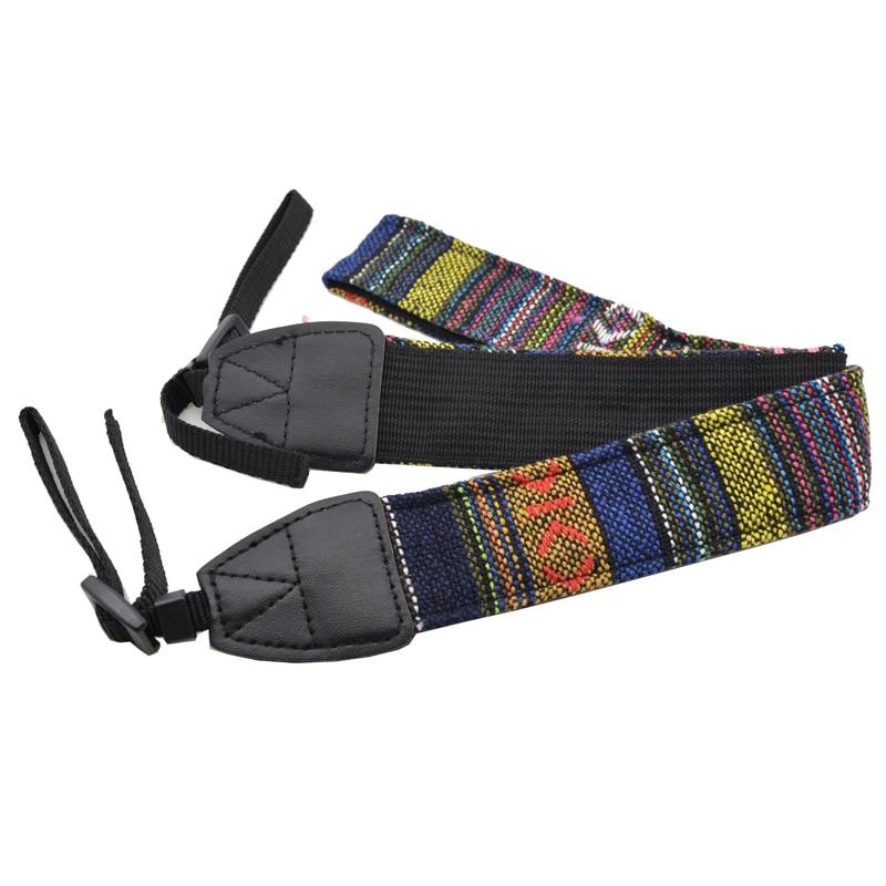 Camera Shoulder Neck Strap Belt For Nikon d3200 d5200 d5100 d3300 d3000 d3100 Canon eos 600d Sony Panasonic SLR DSLR d7000