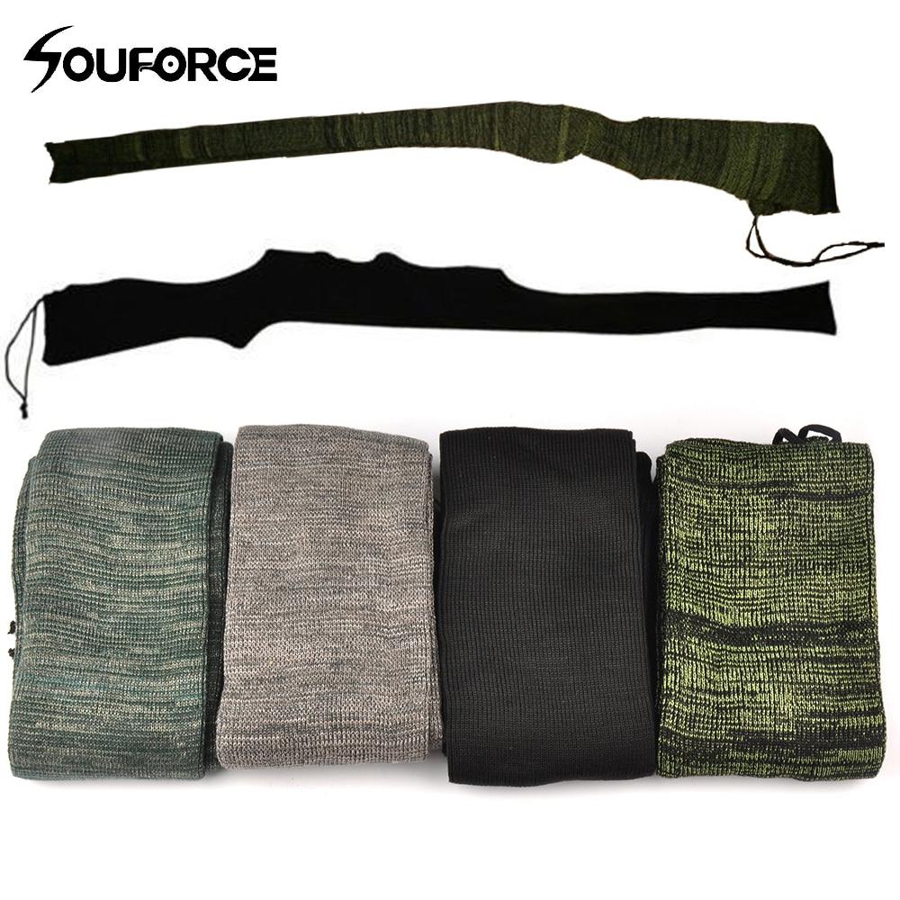 "4pcs 54/"" Gun Sock Silicone Treated Hunting Shotgun Rifle Storage Sleeve Sack"