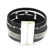 Summer Leather Charm Bracelets For Women