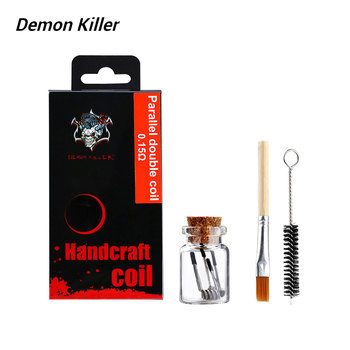 4pcs Original Demon Killer Parallel Double Coil Premium Coil Made From Nichrome 80 with 0.15ohm  Resistance for RBA DIY Fun