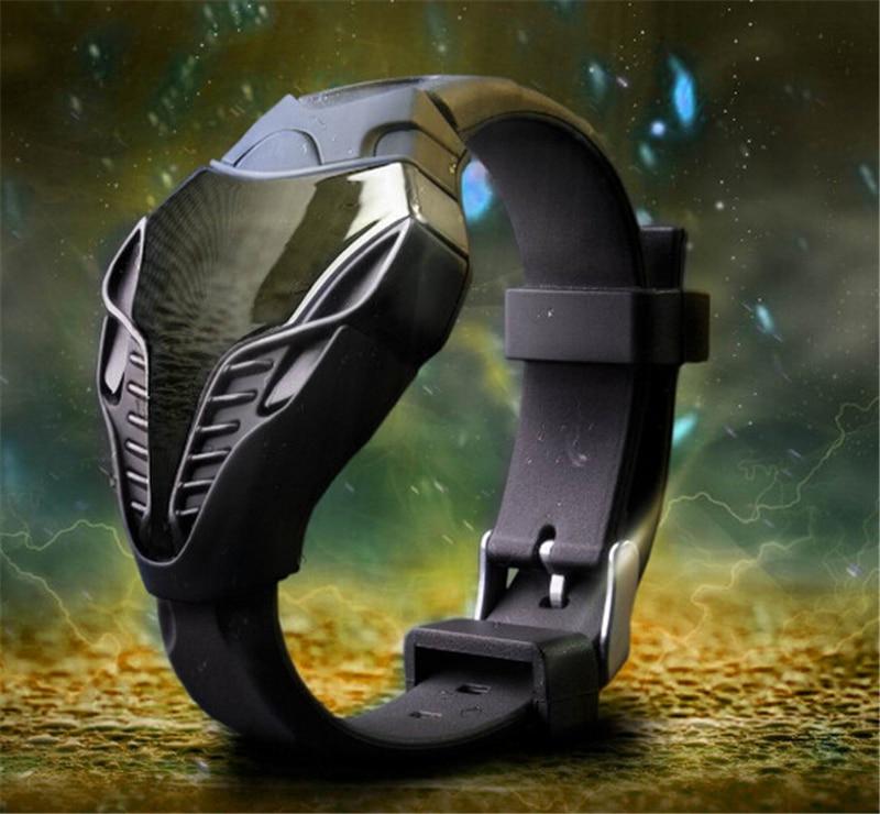 Luxe merk LED militaire horloge Datumweergave Snakehead vorm Sport - Herenhorloges - Foto 6