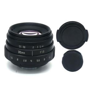 Image 2 - Fuji בלתי 35mm f1.6 C הר מצלמה טלוויזיה במעגל סגור עדשת השני + C הר מתאם טבעת + מאקרו עבור fuji fuji סרט X Pro1 (C FX)