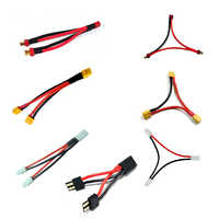 Amass T XT60 TRX Tamiya enchufe serie paralela cables 12awg Cable de silicona arnés de Cable conector de batería para batería RC Lipo