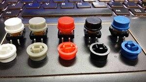 Image 5 - 100 Bộ/lô 12x12x12 MÉT O mron B3F Đầy Màu Sắc Vòng Momentary Assortment Tactile Button Chuyển