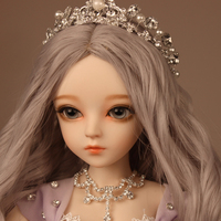 New Arrival Full Set SuDoll BJD 1/3 beautiful girl Free Eyes wig clothes all included Doll toys
