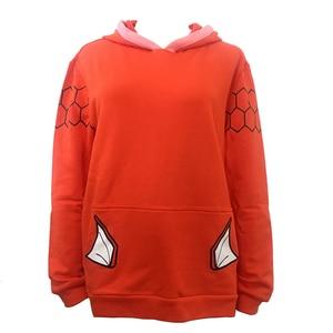 Image 4 - New Anime Pocket Monster Magikarp Hoodie Autumn/Winter Creative Fashion Leisure Orange Unisex Cotton Coat Free Shipping