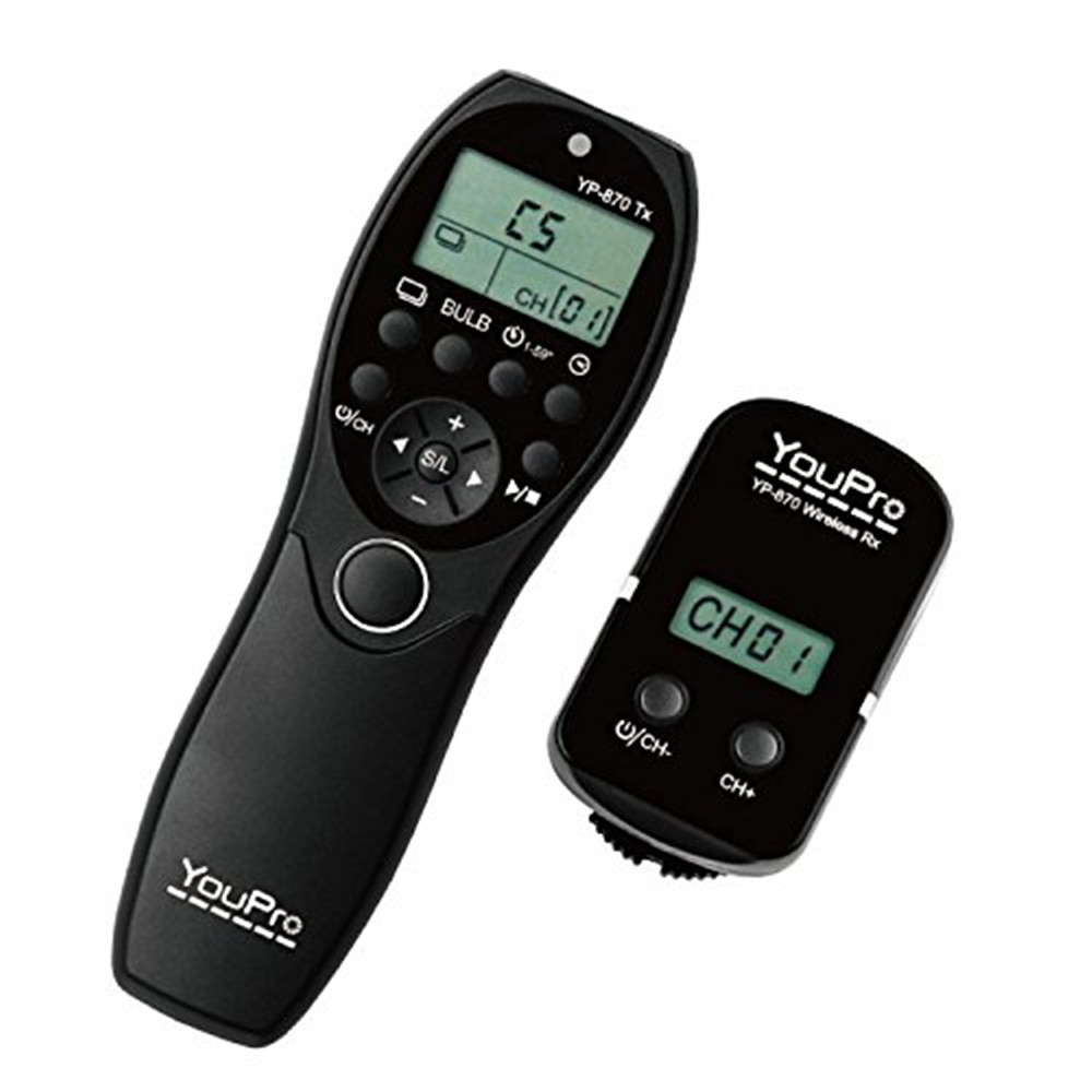 YouPro YP 870 L1 2 4G Wireless Shutter Timer Remote Control for Panasonic Lumix DMC GX1