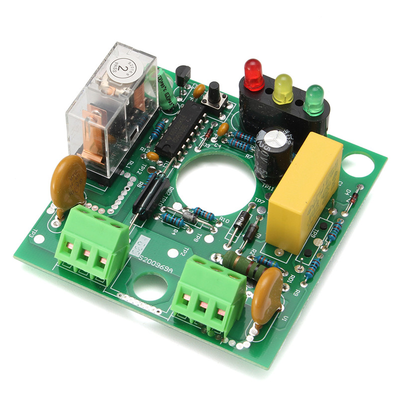 For Blue Water Pump Automatic Perssure Control Electronic Switch Circuit Board 10A Hot Sale water level controller switch water tower tank automatic pumping drainage water shortage protection control circuit board