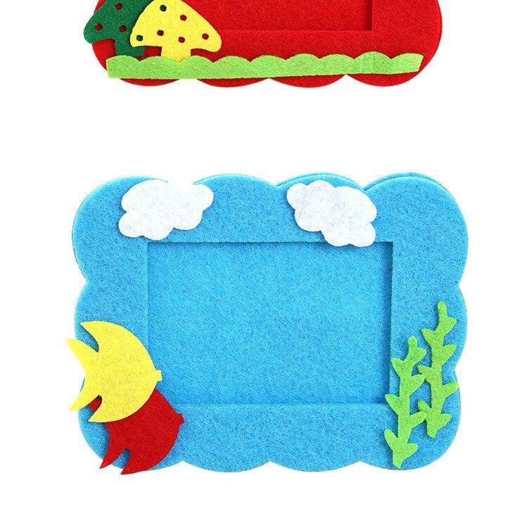 нетканые материалы фоторамки нетканые материалы детей'ы ткань ручной работы DIY производство материал ребенок подарок творческий материал BS69