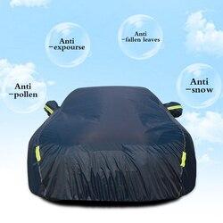Voor Auto Reflector Stof Regen Sneeuw Waterdichte Auto Outdoor Sun Protection Cover Beschermende Volledige Cover Auto Exterieur Accessoires