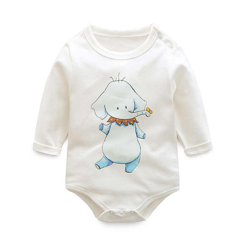 0bdd4cef1e54 Detail Feedback Questions about 100% Cotton Baby Bodysuit White ...