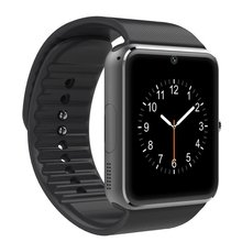 GT08 Bluetooth Smart Watch For Android And iOS With Camera Support SIM TF Card Unisex Smart Wristband Hot Sales