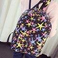 Школьников рюкзак оптом Корейской моды хит цвет холщовый мешок прилив мешок плеча