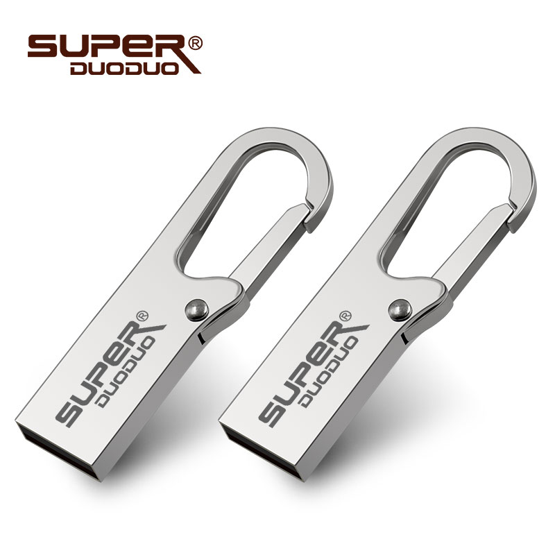 8GB Pendrive Memory-Stick Usb-Disk On-Key 16GB Metal 32gb Flash Waterproof 128GB 64GB