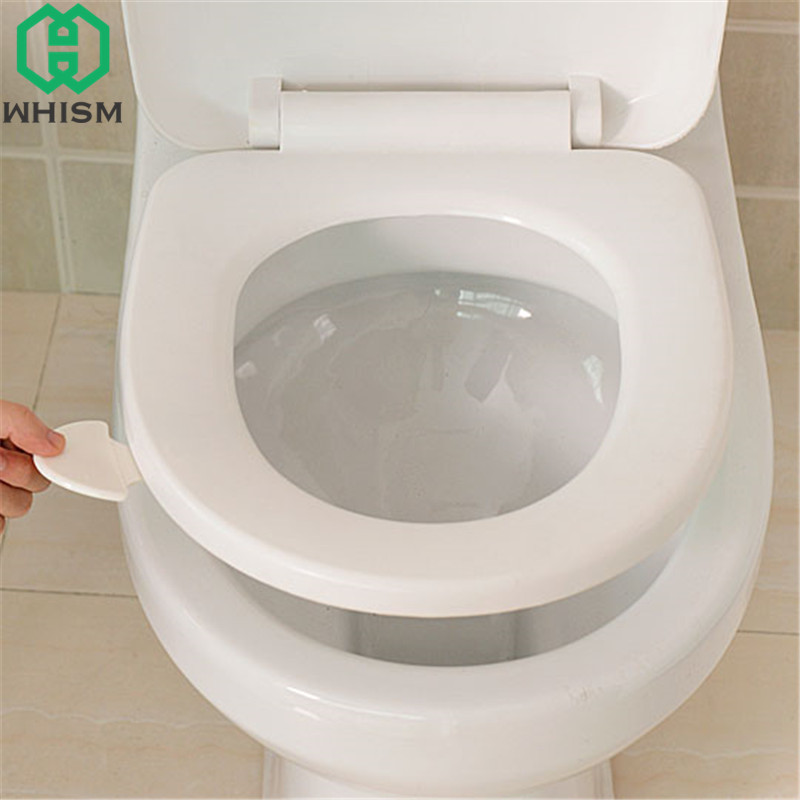 Aliexpress Com Buy Whism Plastic Toilet Cover Lifter