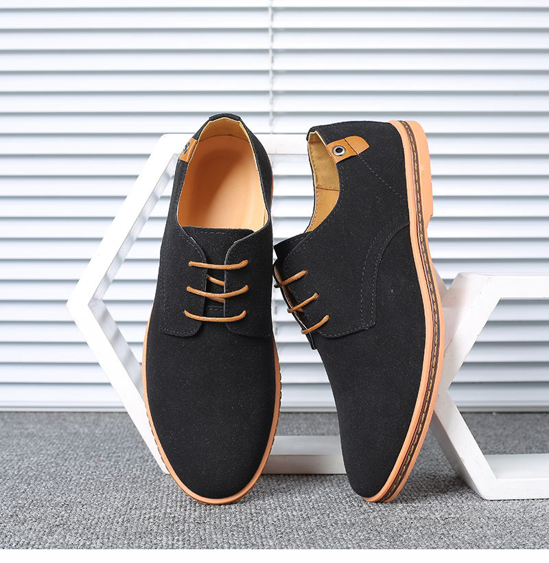HTB13cQGX.uF3KVjSZK9q6zVtXXaB VESONAL Brand 2019 Spring Suede Leather Men Shoes Oxford Casual Classic Sneakers For Male Comfortable Footwear Big Size 38-46
