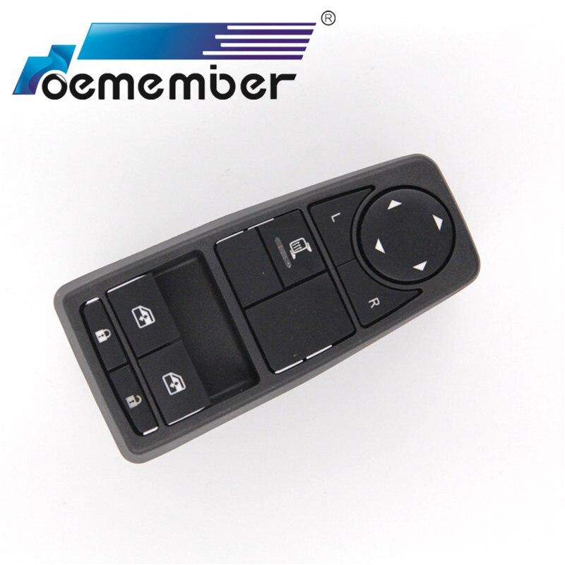 Factory Direct Auto Power Janela Levantador Interruptor de Controle se aplica Para peças de Caminhões MAN INTERRUPTOR DO LADO DO MOTORISTA 81258067094 81258067082