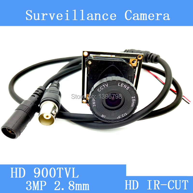 HD 900TVL 8901A+OV9732 CCTV Camera Module mushroom head 3MP 2.8mm Lens Video surveillance cameras IR-CUT dual-filter switch qhy5l ii c imager guider cameras with free a 8mm cctv lens