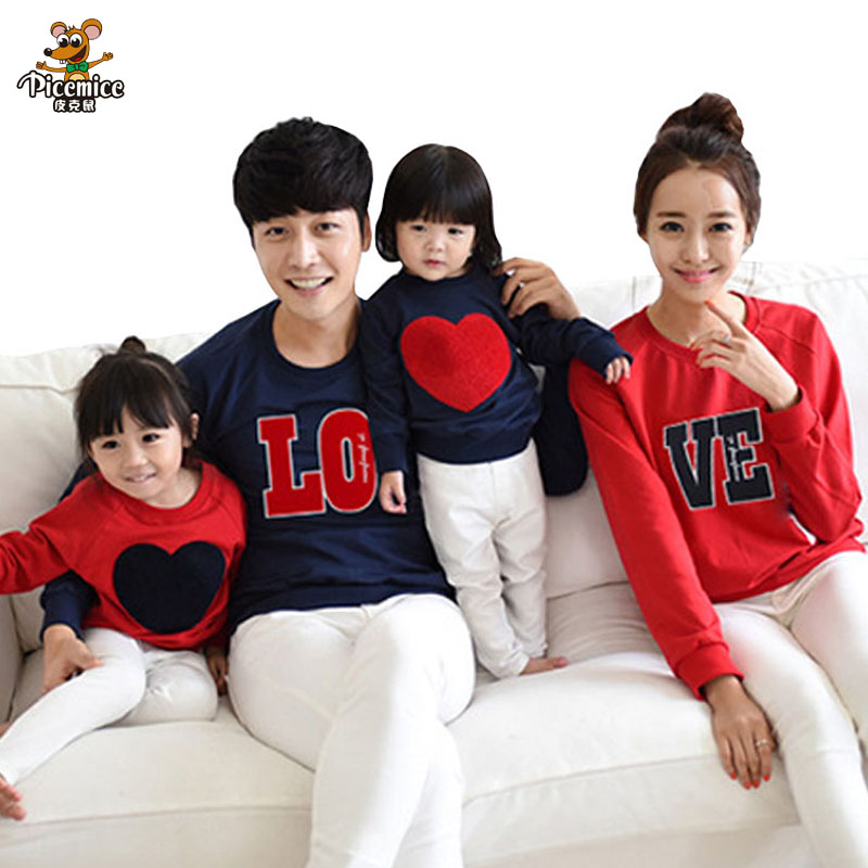 Family Clothing New 2017 Family Matching Outfits Mom Dad ...