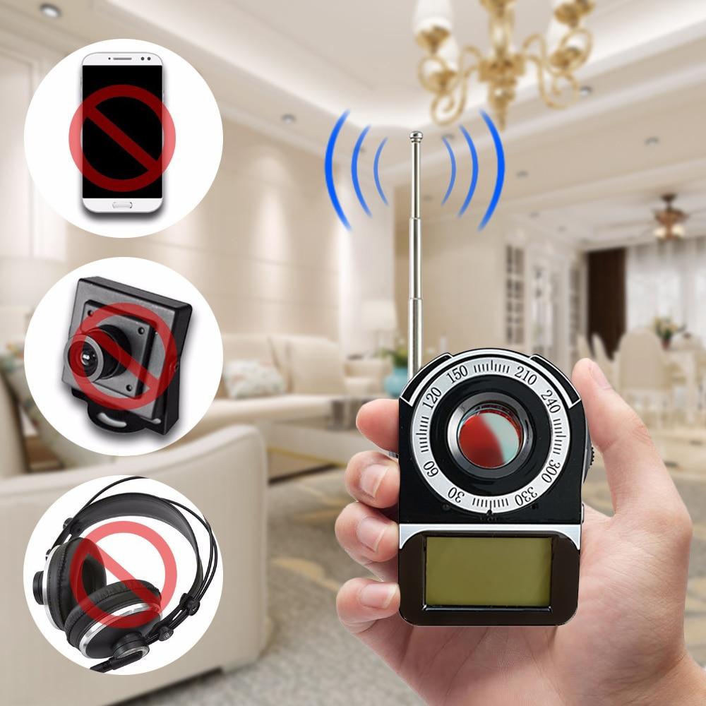 bdiu CC309 Wireless Signal Full Band Detector Hidden Camera Bug Finder Anti Spy Detector Anti Candid