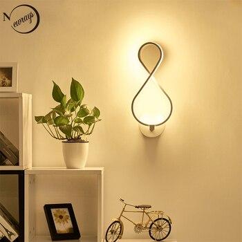 Europeo Moderno dipinto acrilico lampada da parete A LED 220V novità creativa applique da parete per soggiorno camera da letto ristorante corridoio ufficio