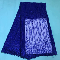 France Voile Lace Fabric 2019 High Quality Lace Best Selling African Dresses For Wedding Lace Cotton Lace Party Dress