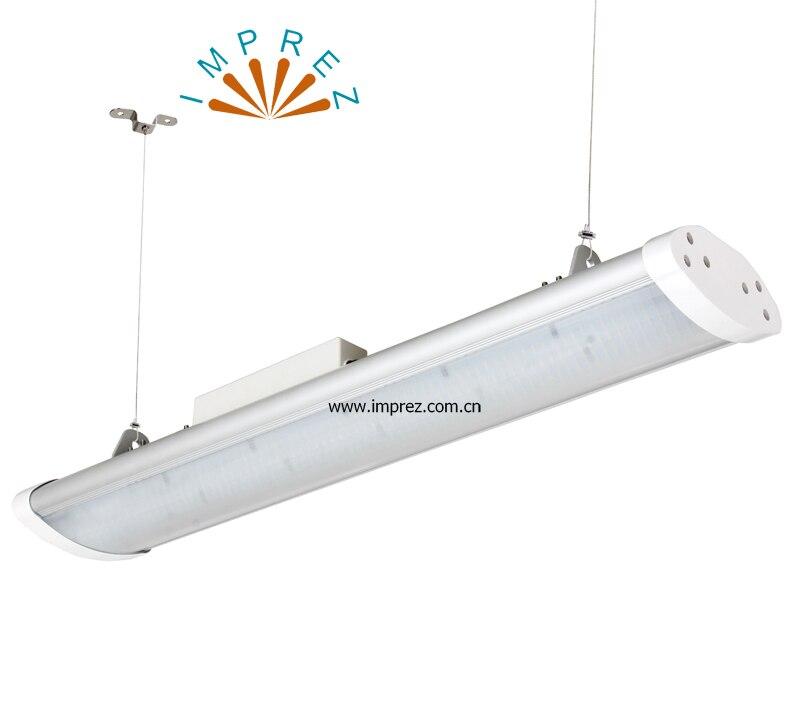 10 pcs/lot 150 W faisceau lumineux linéaire LED 1200mm 4ft 100lm/W 100-277 V AC pur/chaud/froid blanc SMD2835 lumière linéaire livraison gratuite