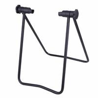 Universal Flexible Bicycle Bike Display Triple Wheel Hub Repair Stand Kick Stand for Parking Holder Folding High Quality