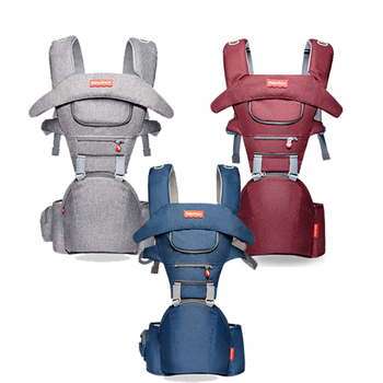 Top Baby Carrier Ergonomic Carrier Backpack Hipseat Sling Carrier Front Facing Ergonomic Kangaroo Baby Wrap Sling for Baby 0-36M