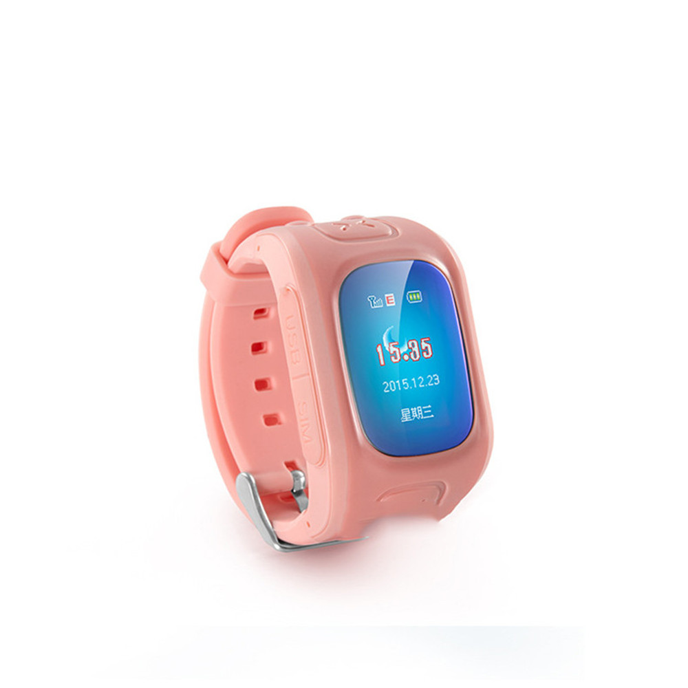 D5 childrens intelligent positioning watch GPS voice fully compatible with hot smart wearable devices