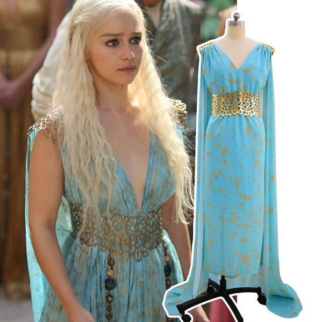 Aliexpress.com : Buy Daenerys Targaryen Costume Mhysa ...
