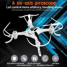 RC Drone FY530 4CH 2.4GHz Radio 6 Axis Gyro RTF Drone Control RC Quadcopter 360 degree Biomimetic Design RTF UFO Drone toy gifts