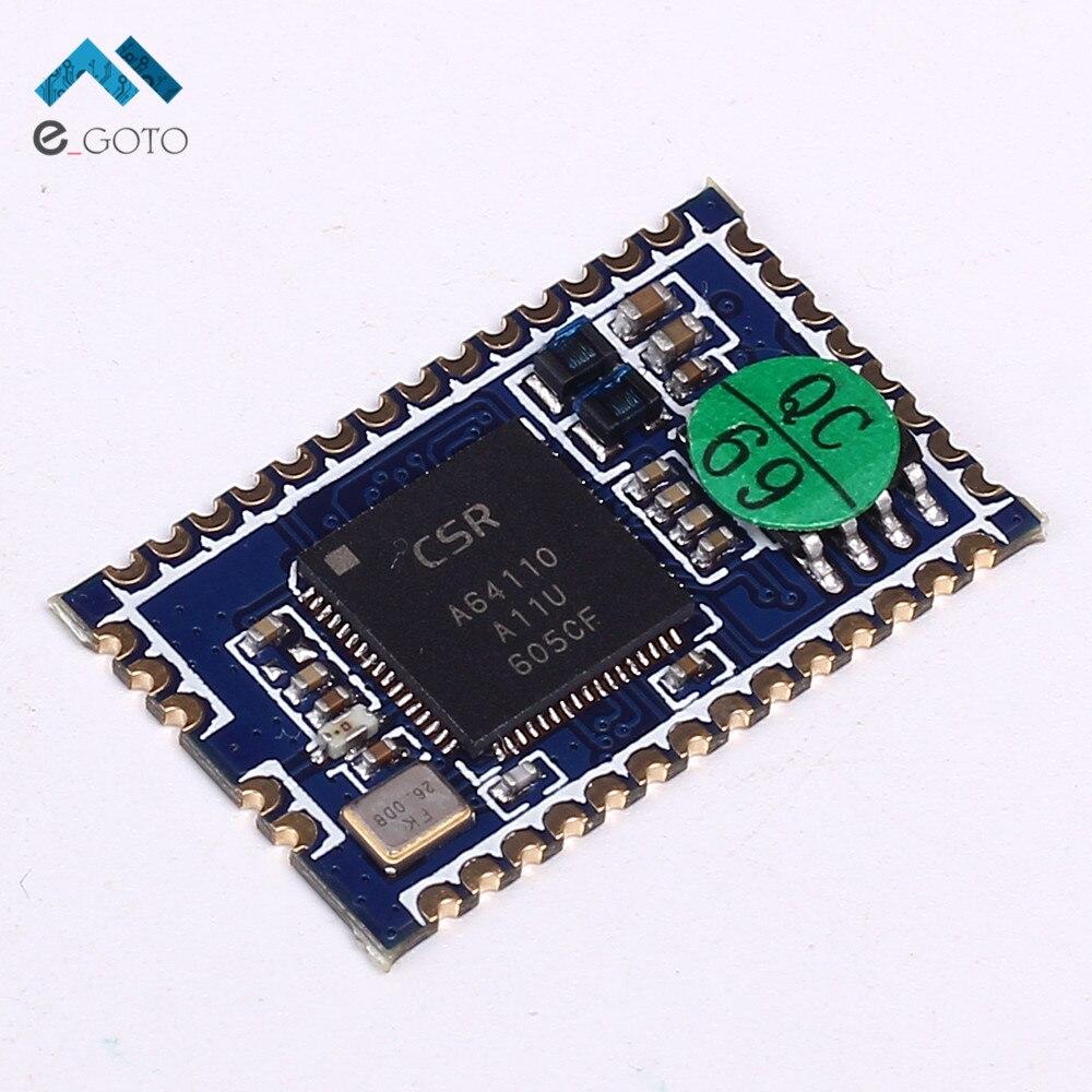 CSRA64110 Беспроводной модуль <font><b>Bluetooth</b></font> Audio <font><b>BLE</b></font> 4.0 4.2 mono аналоговый Выход доска Поддержка USB звуковая карта вызова