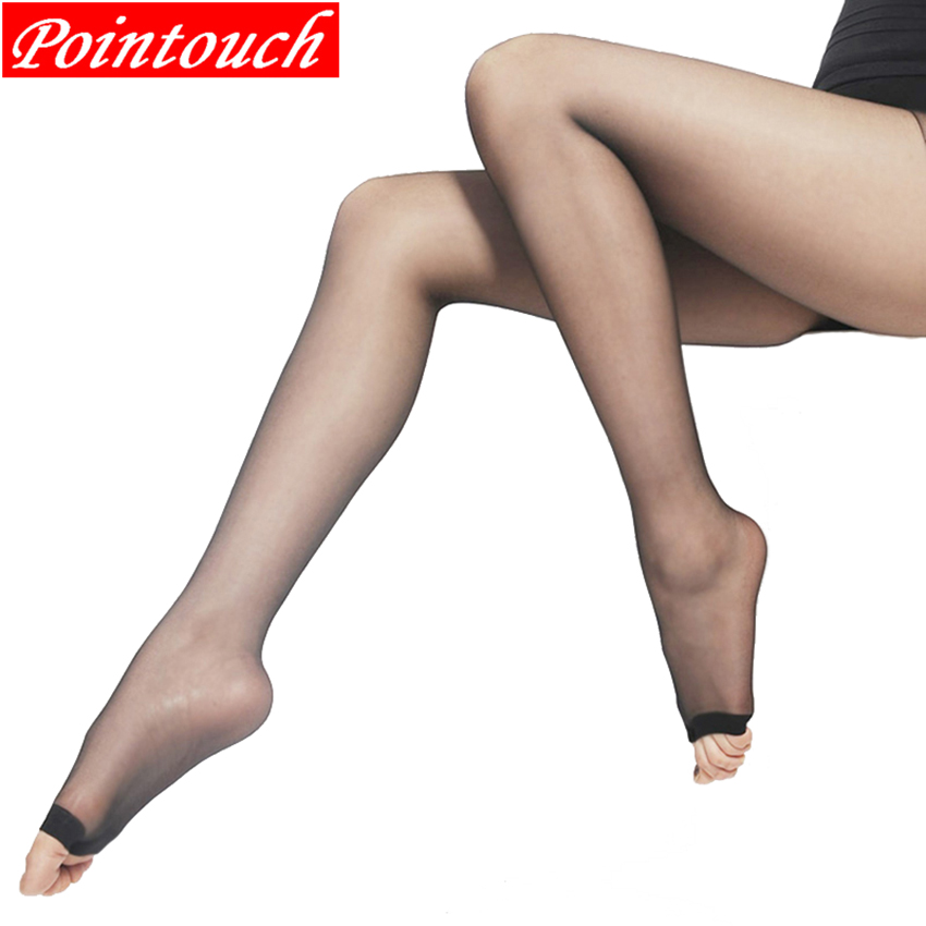 Buy POINTOUCH Sexy Summer Breathable Thin Tights Stretchy Stockings High Elastic Prevent Hook Women Pantyhose Medias Girl