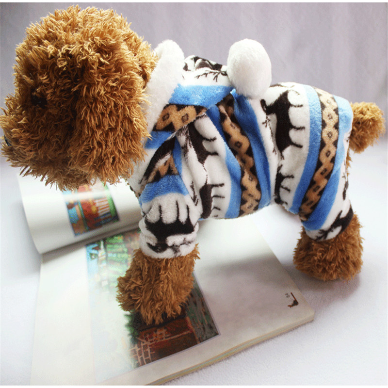 The-New-Autumn-And-Winter-Snowflake-Soft-Fleece-Dog-Clothes-Pet-Dog-Dress-Pattern-Coral-Velvet(6)