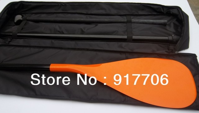 Free cover 3 pcs adjustable carbon sup padle