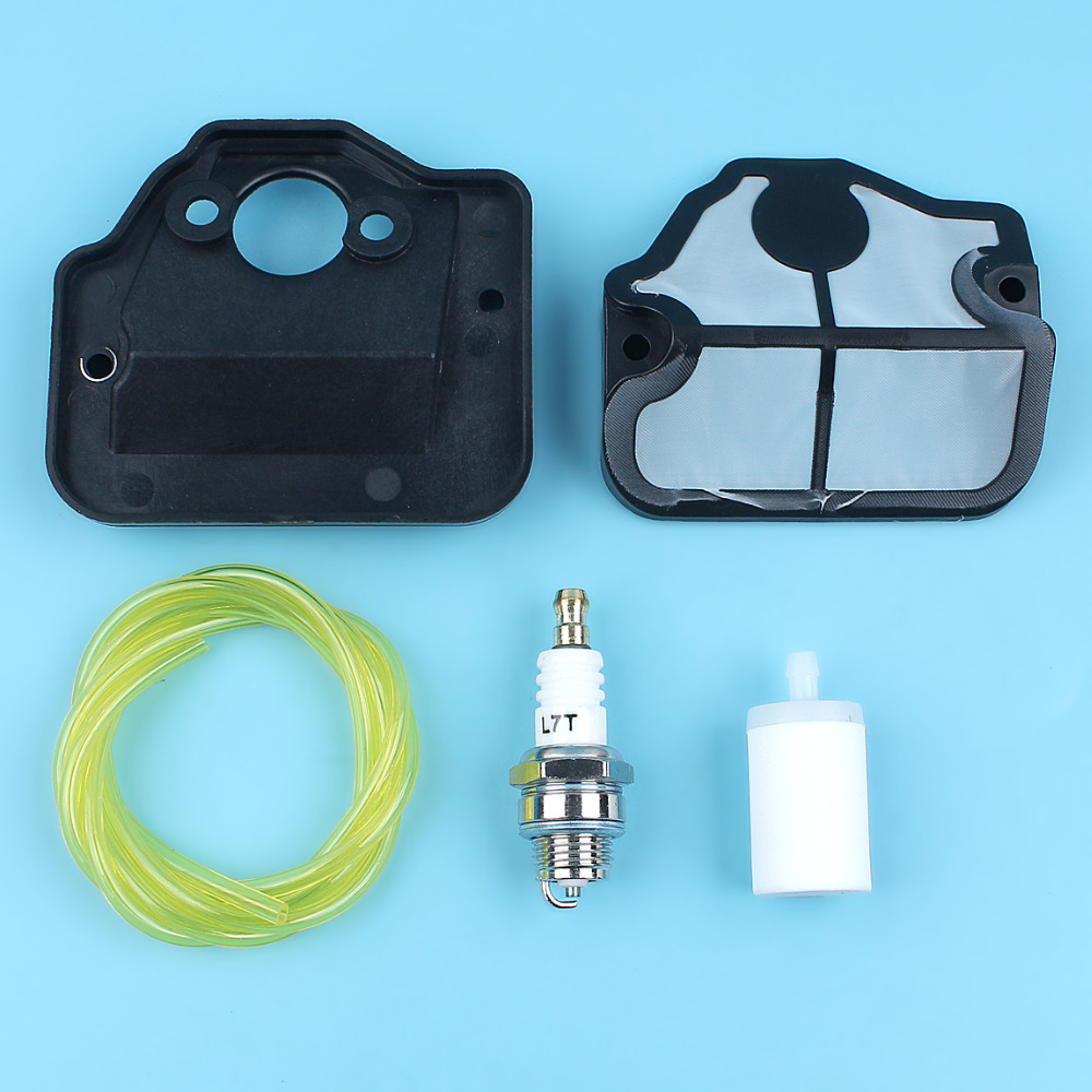 Air Fuel Filter Hose Line Spark Plug Kit For HUSQVARNA 36 41 136 137 141 142 Chainsaw