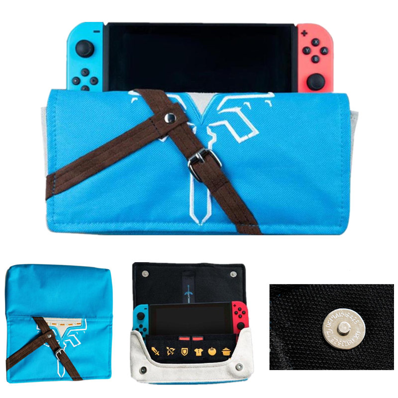 Carrying Case Storage Soft Cloth Bag Portable Game Bag Pouch Cover Case For Nintend Switch NS Joy Con Console & Game Card Holder