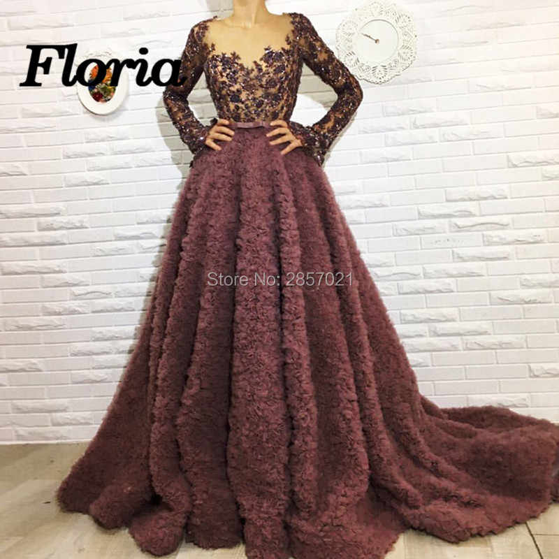 Vestido de glitter Formal Evening Dresses 2018 New Dubai Turkey Arabic  Islamic Muslim Party Prom Dress ca51d6fc523c