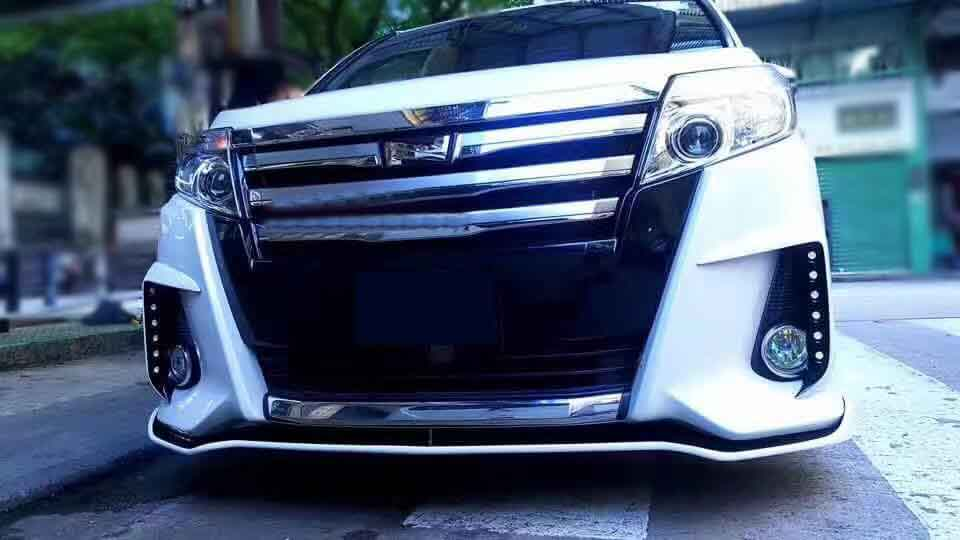 Us 32290 For Toyota Noahs Srj Body Kit Front And Rear Lip With Led In Body Kits From Automobiles Motorcycles On Aliexpresscom Alibaba Group