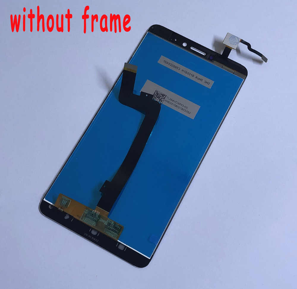 LCD for Xiaomi Mi Max 2 LCD Display Screen Xiaomi Max 2 LCD Touch Screen Digitizer Glass Mi Max 2 LCD Screen Assembly with Frame
