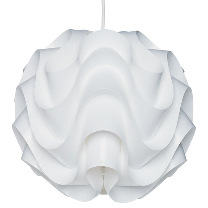 Modern Pendant Lights White Wave Ball Lamp For Kitchen Suspension Re Kids Room Lamparas Luminaire Light Fixtures In From